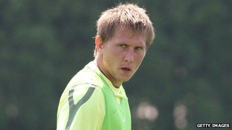 """Tomasz Kuszczak Manchester United """"Slave"""""""